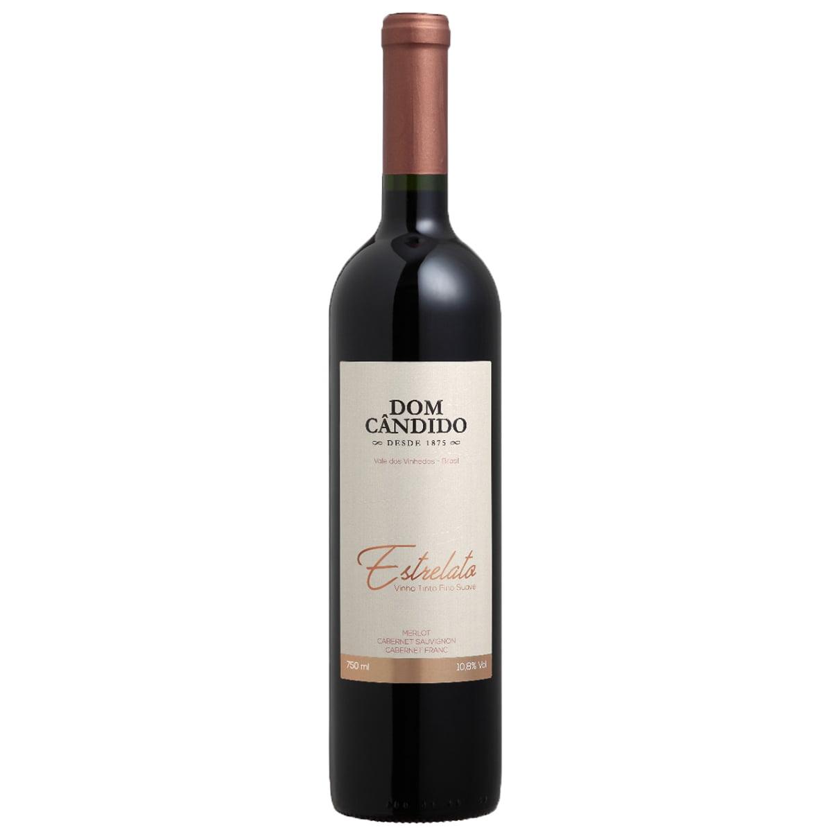 Vinho Dom Cândido Estrelato Tinto Suave 750ml