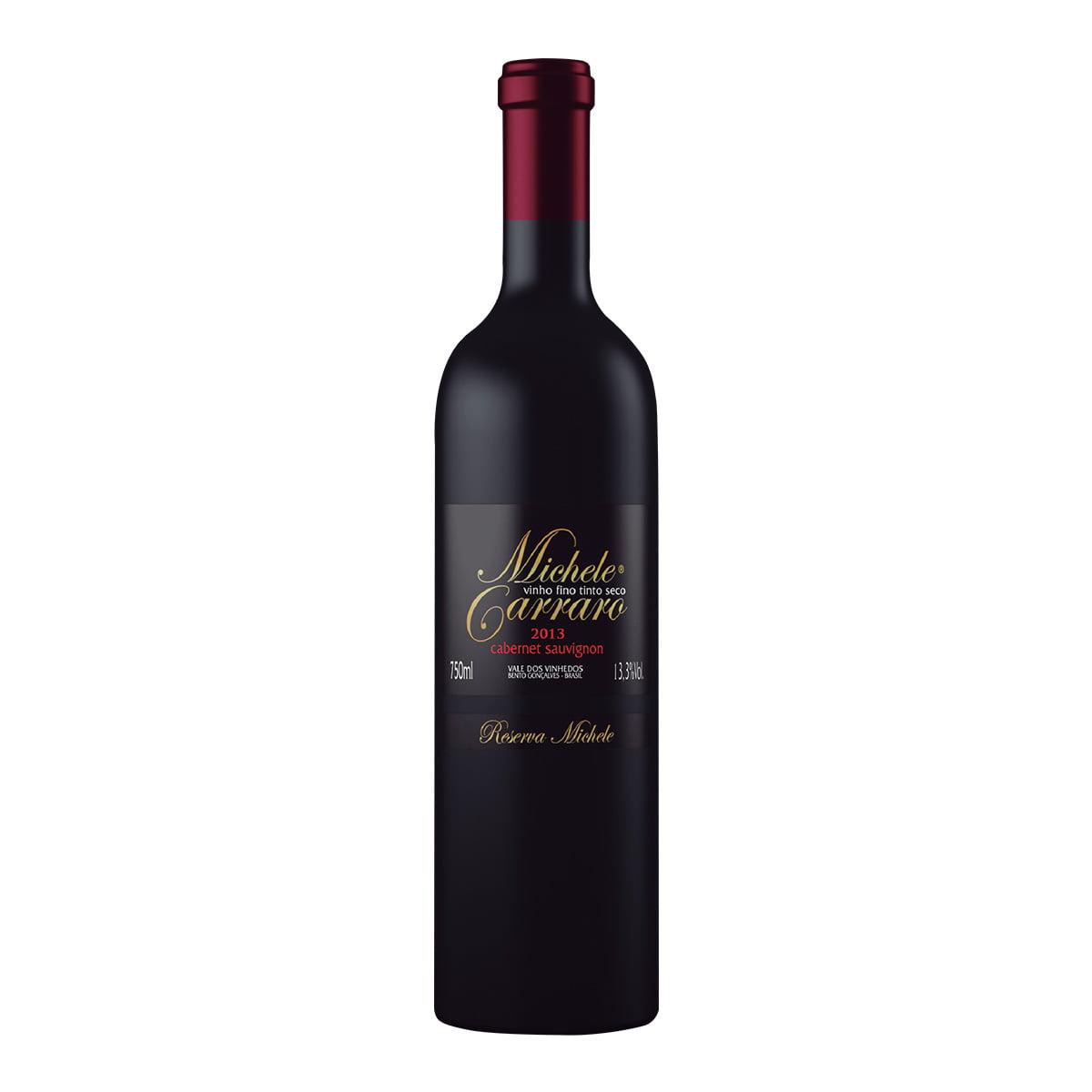 Vinho Michele Carraro Cabernet Sauvignon Tinto Seco 750ml