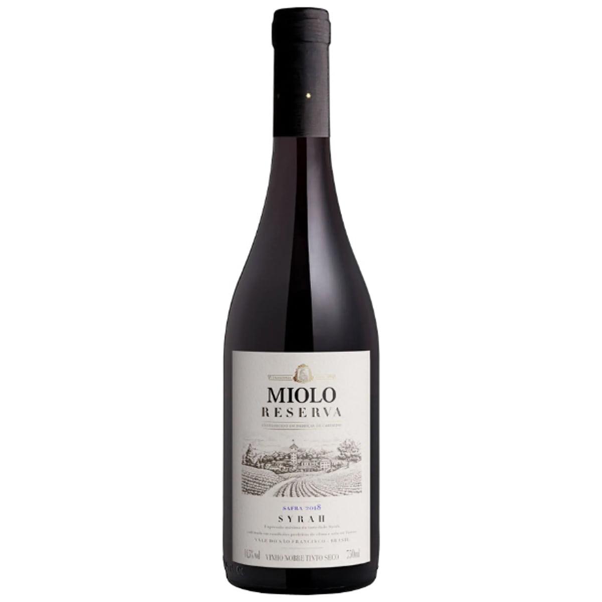 Vinho Miolo Reserva Syrah Tinto Seco 750ml