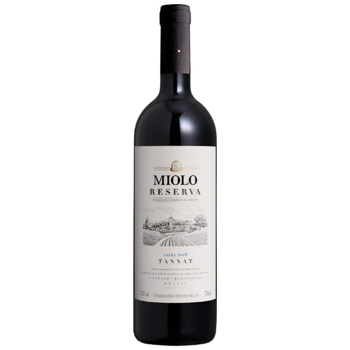 Vinho Miolo Reserva Tannat Tinto Seco 750ml
