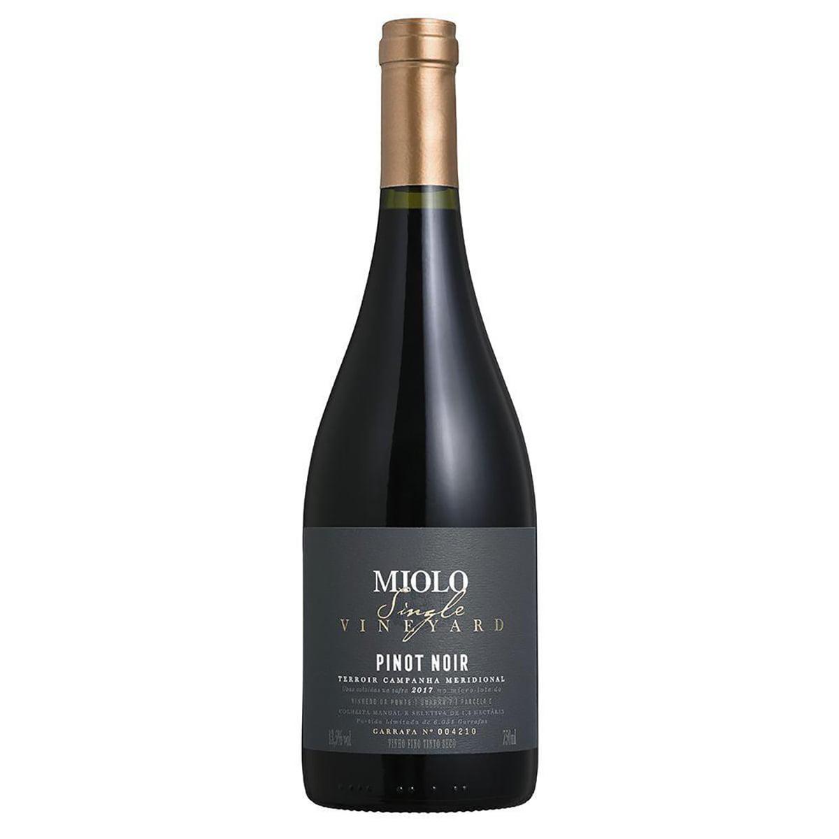 Vinho Miolo Single Vineyard Pinot Noir Tinto Seco 750ml