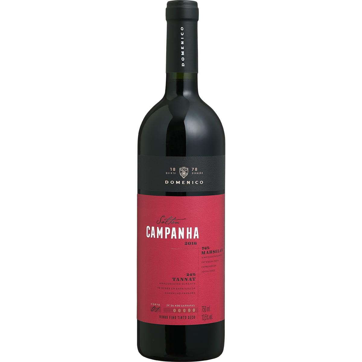 Vinho Salton Campanha Marselan/Tannat Tinto Seco 750ml