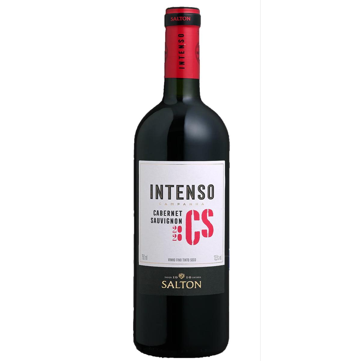 Vinho Salton Intenso Cabernet Sauvignon Tinto Seco 750ml